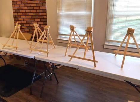 canvas set up