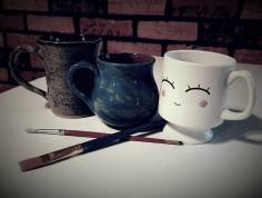 hot cocoa & painting